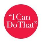 """I Can Do That"" social network logo"